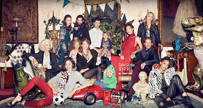 Campagne H&M Holiday 2015